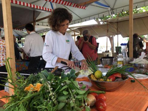 Chef Ciça Roxo. Foto de Ana Carvalho