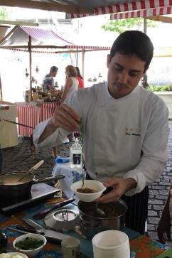 Chef Joca Mesquita. Foto de Ana Carvalho / Olhar Saudável