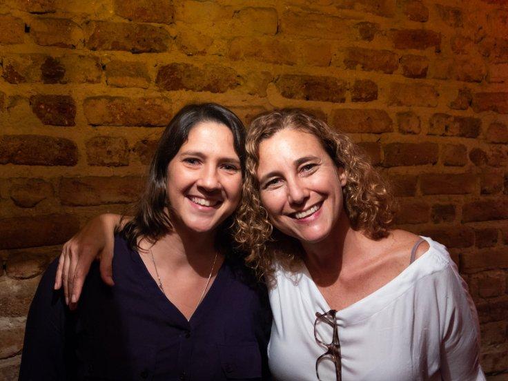 Flavia Brito e Francine Xavier